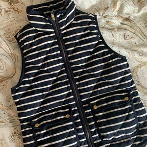 Navy Striped Excursion Vest